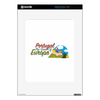 Portugal Gem Of Europe Skins For iPad