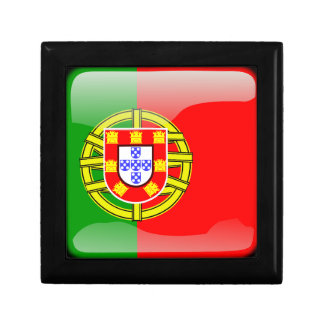 Portugal glossy flag keepsake box