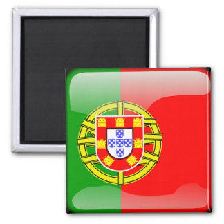 Portugal glossy flag magnet