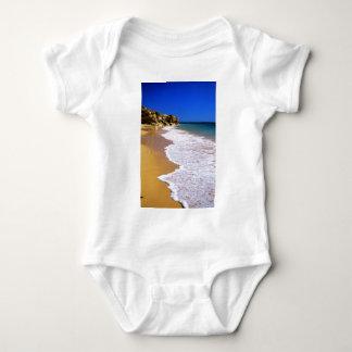 Portugal golden beach baby bodysuit
