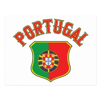 Portugal grande e intrépido postal