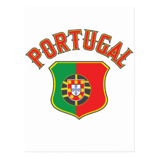 Portugal grande e intrépido tarjeta postal