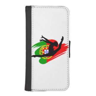 Portugal Gymnast iPhone SE/5/5s Wallet Case