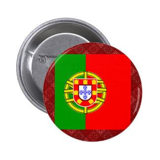 Portugal High quality Flag Pinback Button
