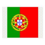 Portugal High quality Flag Postcard
