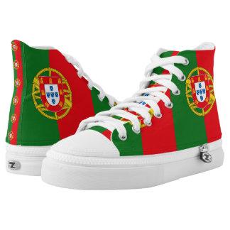 Portugal High-Top Sneakers