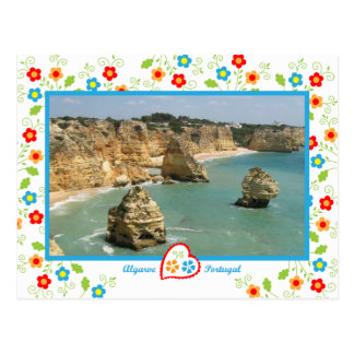 Portugal in photos - Benagil Postcard