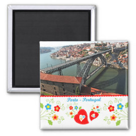 Portugal in photos - Iron bridge Fridge Magnets