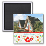 Portugal in photos - Madeira island 2 Inch Square Magnet
