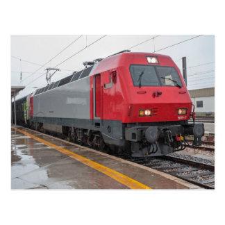 Portugal: Interurbano con la locomotora eléctrica  Tarjetas Postales