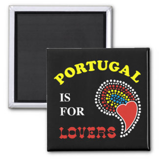 Portugal Is For Lovers Fridge Magnets