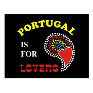 Portugal Is For Lovers Post Card