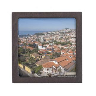 Portugal, isla de Madeira, Funchal. Teleférico Caja De Recuerdo De Calidad