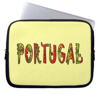 Portugal Laptop Computer Sleeve