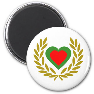 portugal-laurel-heart magnet