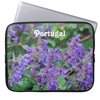Portugal Lavender Computer Sleeve