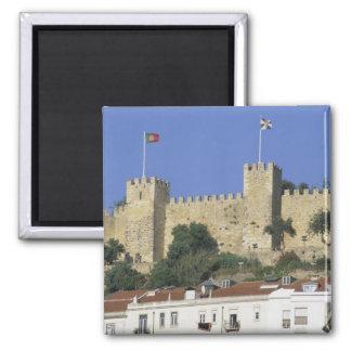 Portugal, Lisboa. Castelo de Sao Jorge Imán De Frigorífico