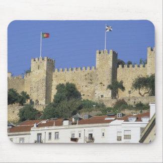 Portugal, Lisboa. Castelo de Sao Jorge Tapetes De Raton
