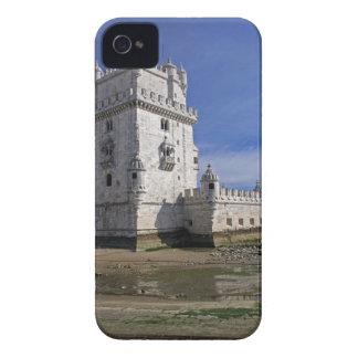Portugal, Lisboa. Torre de Belem, un mundo de la iPhone 4 Case-Mate Cárcasas