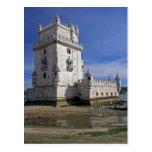 Portugal, Lisboa. Torre de Belem, un mundo de la Postal