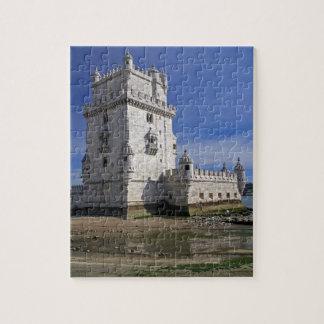 Portugal, Lisboa. Torre de Belem, un mundo de la U Puzzle