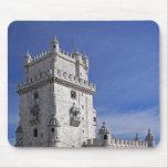 Portugal, Lisboa. Torre de Belem, un mundo de la U Tapetes De Raton