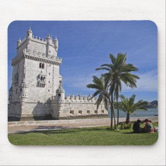 Portugal, Lisbon. Belem Tower, a UNESCO World 2 Mouse Pad