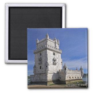 Portugal, Lisbon. Belem Tower, a UNESCO World Magnet