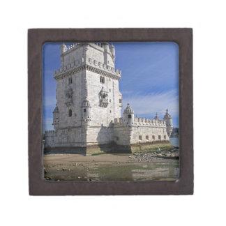 Portugal, Lisbon. Belem Tower, a UNESCO World Premium Gift Boxes
