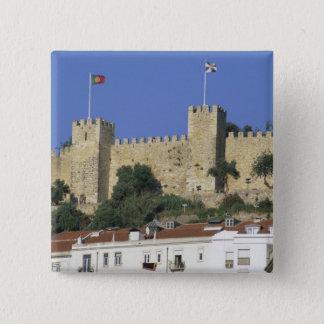 Portugal, Lisbon. Castelo de Sao Jorge. Button