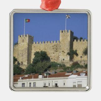 Portugal, Lisbon. Castelo de Sao Jorge. Christmas Tree Ornament