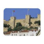 Portugal, Lisbon. Castelo de Sao Jorge. Vinyl Magnets
