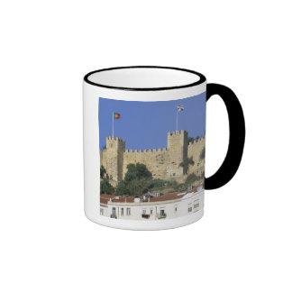 Portugal, Lisbon. Castelo de Sao Jorge. Ringer Mug