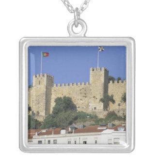 Portugal, Lisbon. Castelo de Sao Jorge. Silver Plated Necklace