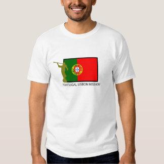 PORTUGAL LISBON MISSION LDS CTR SHIRTS