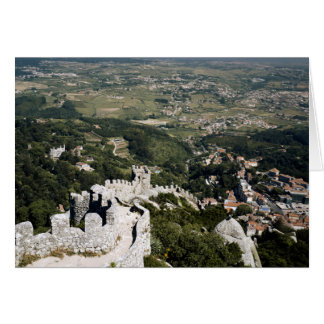 Portugal, Lisbon Province, Sintra, View From Card