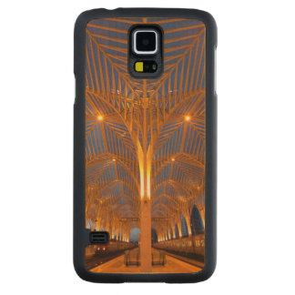 Portugal, Lisbon. View Of Modern Station Carved® Maple Galaxy S5 Slim Case
