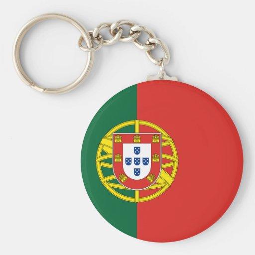 Portugal Llavero Redondo Tipo Pin