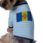 Portugal Madeira Flag Dog T Shirt