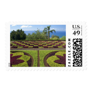 Portugal, Madeira Island, Funchal. Botanical Postage