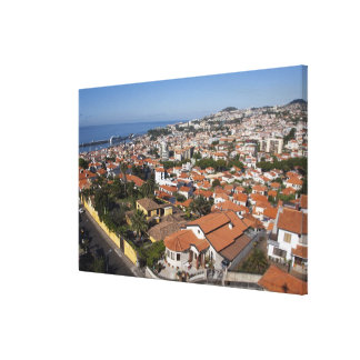 Portugal, Madeira Island, Funchal. Cable car Canvas Print