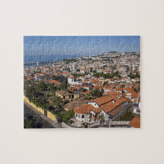 Portugal, Madeira Island, Funchal. Cable car Jigsaw Puzzle