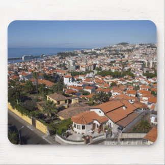Portugal, Madeira Island, Funchal. Cable car Mouse Pad