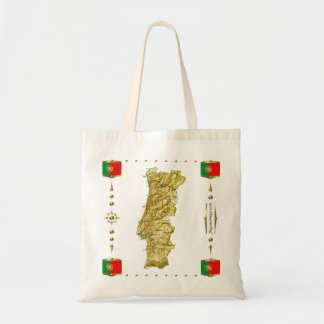 Portugal Map + Flags Bag