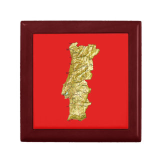 Portugal Map Gift Box