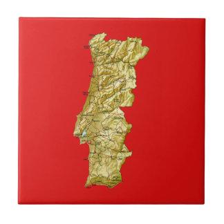 Portugal Map Tile