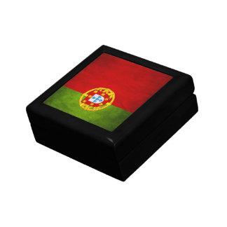 Portugal national flag jewelry box