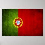 Portugal national flag poster