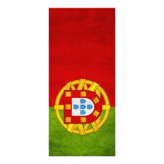 Portugal national flag rack card