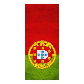 Portugal national flag rack card